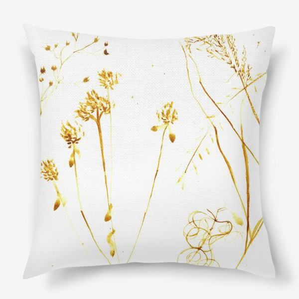 Подушка «Сухоцветы»