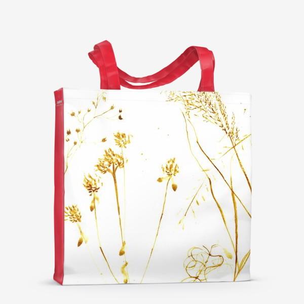 Сумка-шоппер «Сухоцветы»