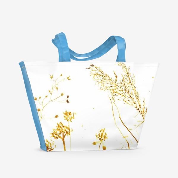 Пляжная сумка «Сухоцветы»