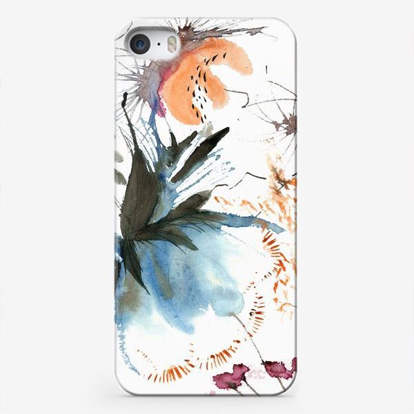 Чехол iPhone «Осенние цветы»