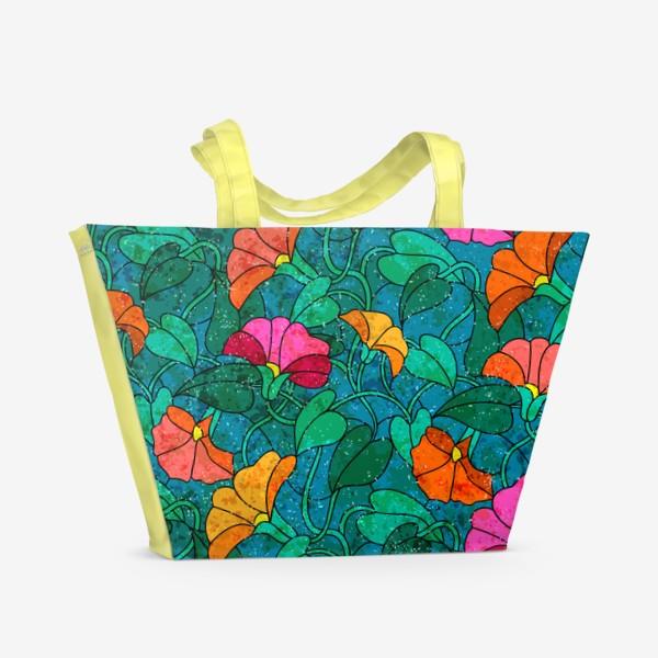 Пляжная сумка «Вьюн разросся»