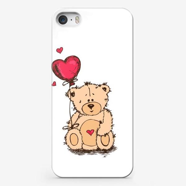 Чехол iPhone «Влюбленный Плюшевый Миша»