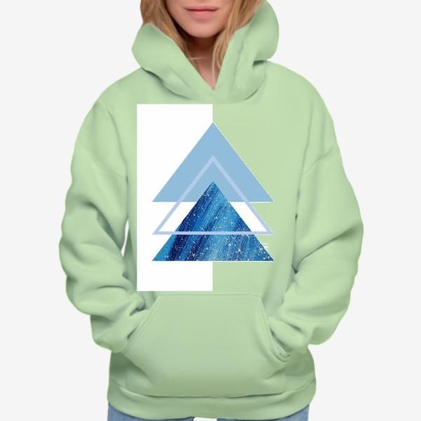 Худи «Треугольники. Абстракция»