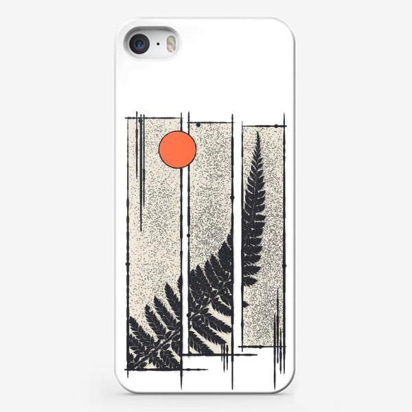 Чехол iPhone «Moon Fern»