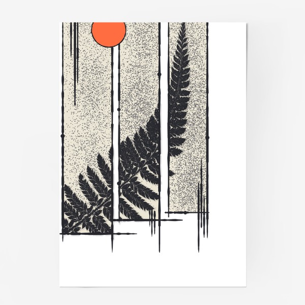 Постер «Moon Fern»