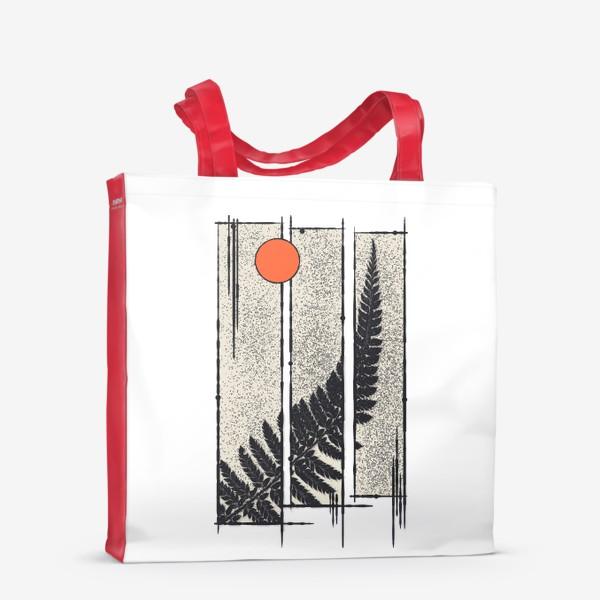 Сумка-шоппер «Moon Fern»