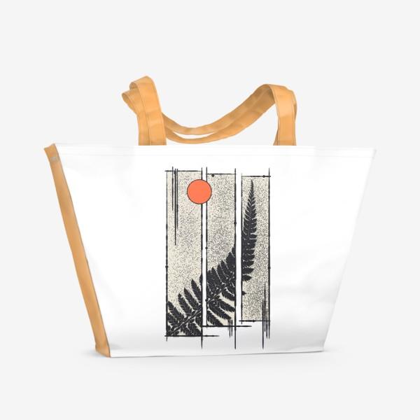 Пляжная сумка «Moon Fern»
