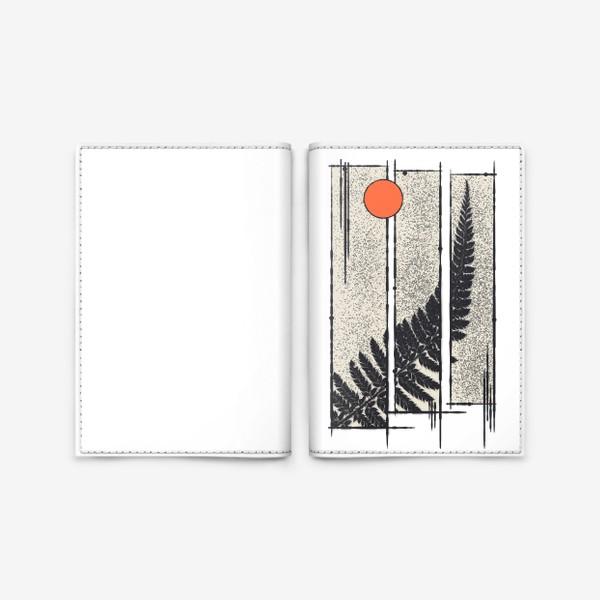 Обложка для паспорта «Moon Fern»