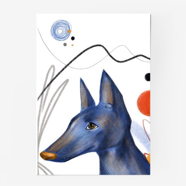 Постер «Синий пес»