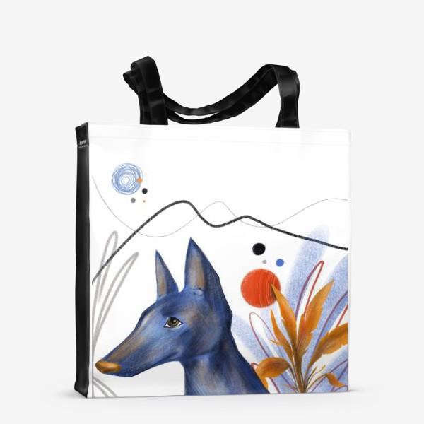 Сумка-шоппер «Синий пес»
