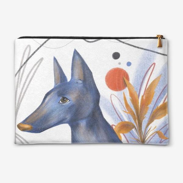 Косметичка «Синий пес»
