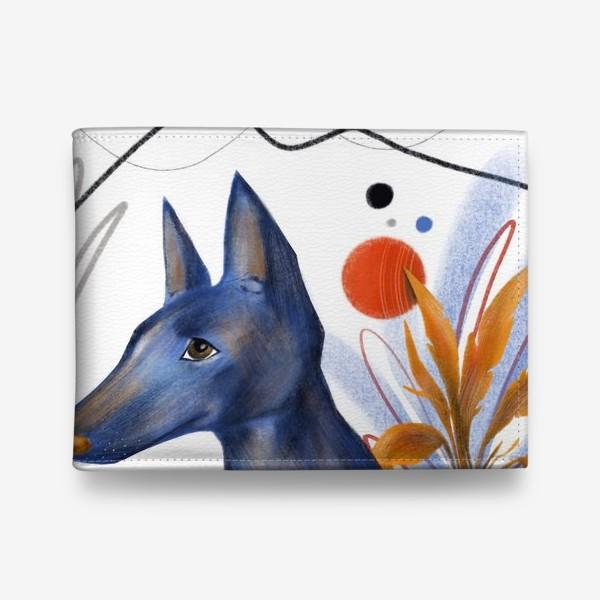 Кошелек «Синий пес»