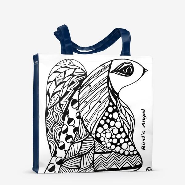 Сумка-шоппер «Птичий Ангел»