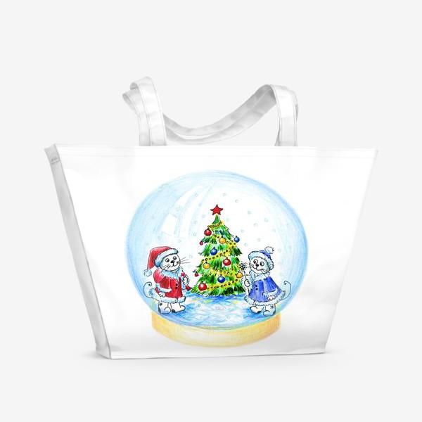 Пляжная сумка «Волшебный шар»