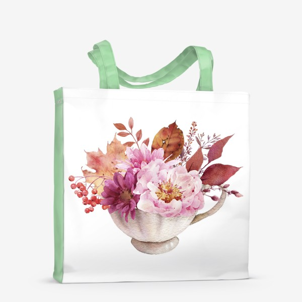 Сумка-шоппер «Осень в чашке»