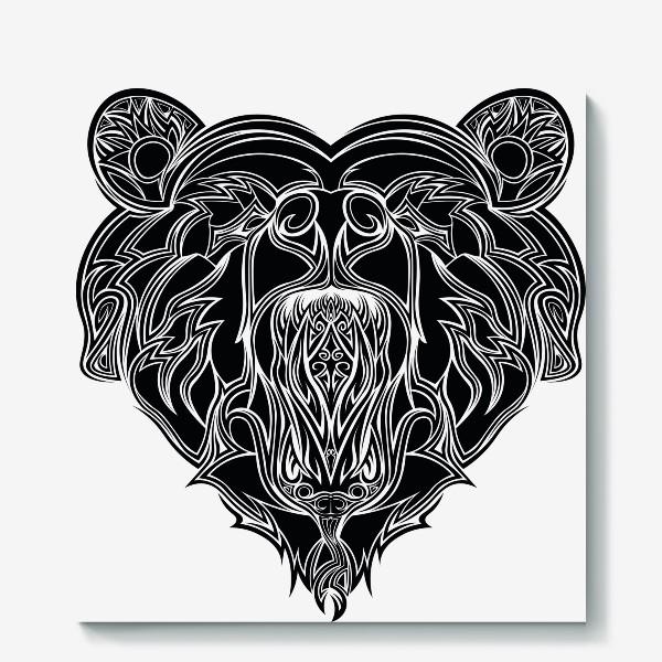 Холст «Сердце но Медведь в котором Змея можно разглядеть»