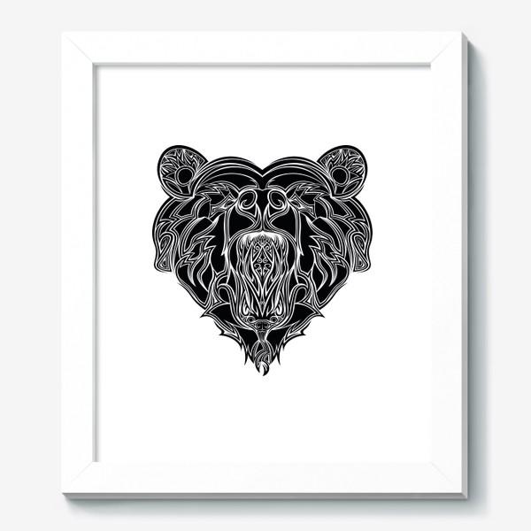 Картина «Сердце но Медведь в котором Змея можно разглядеть»