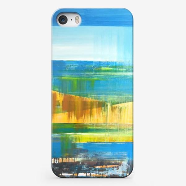 Чехол iPhone «Летний пейзаж»