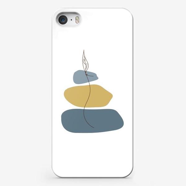 Чехол iPhone «Пятна и росток»