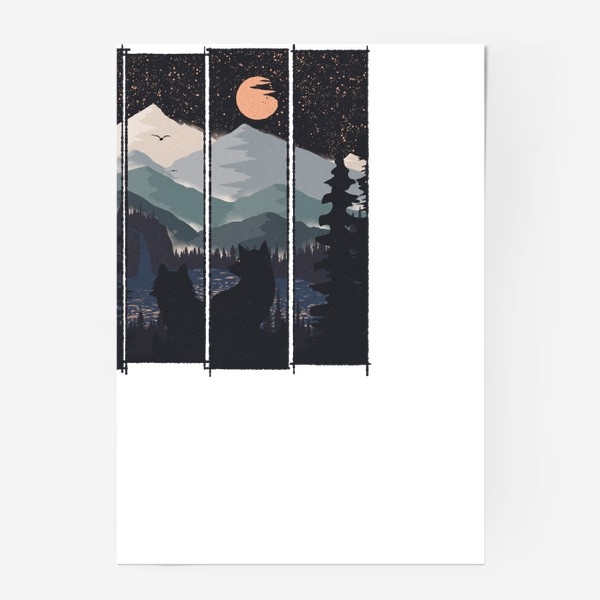 Постер «Two and The Moon»