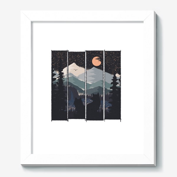 Картина «Two and The Moon»