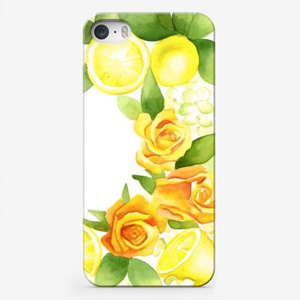 Чехол iPhone «Жёлтое настроение»