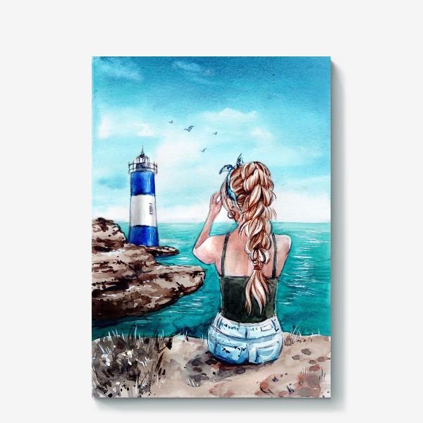 Холст «ласковое море»
