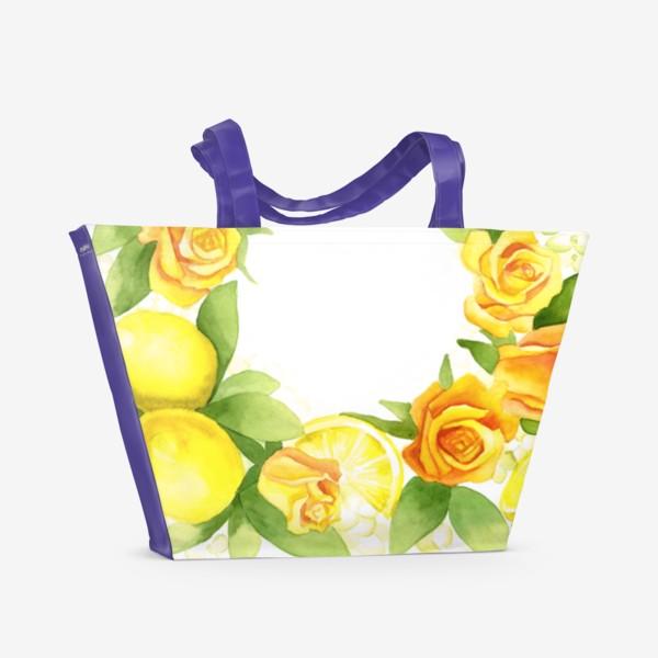 Пляжная сумка «Жёлтое настроение»