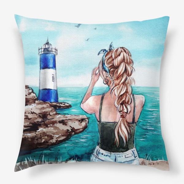 Подушка «ласковое море»