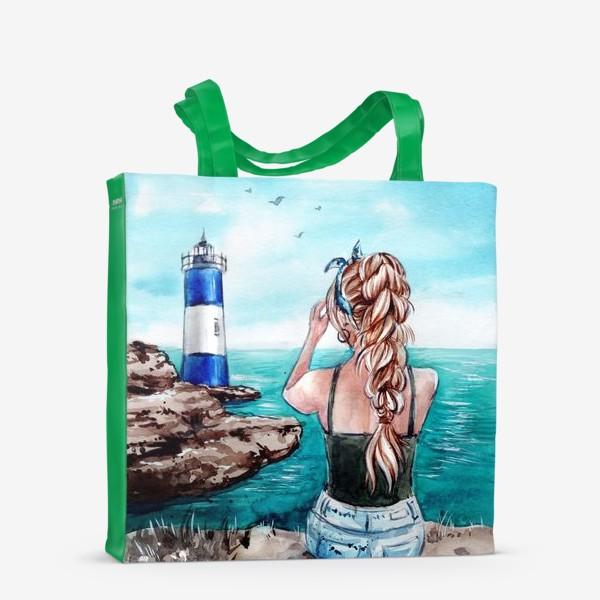 Сумка-шоппер «ласковое море»