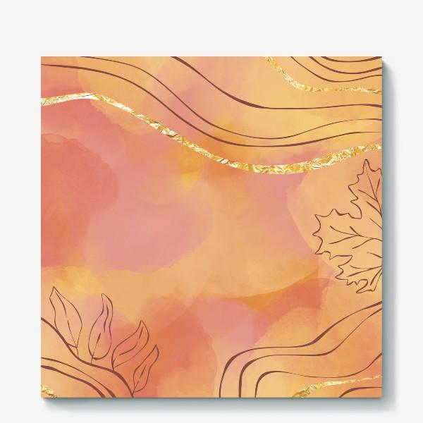 Холст «Осенняя абстракция 2»