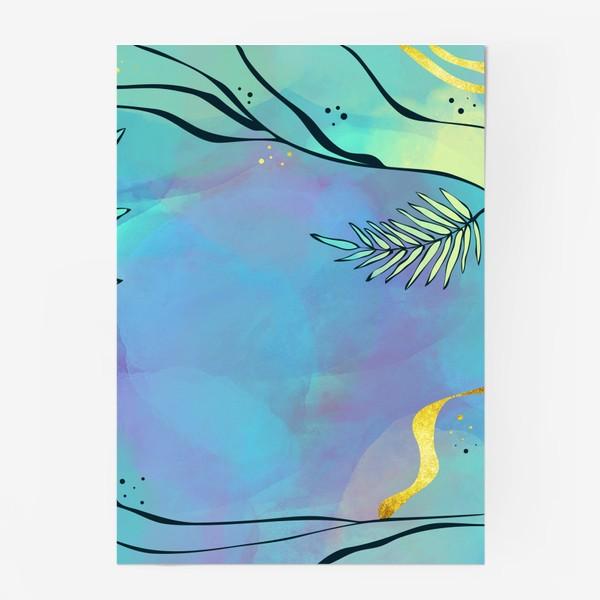 Постер «Абстракция. Тропики»