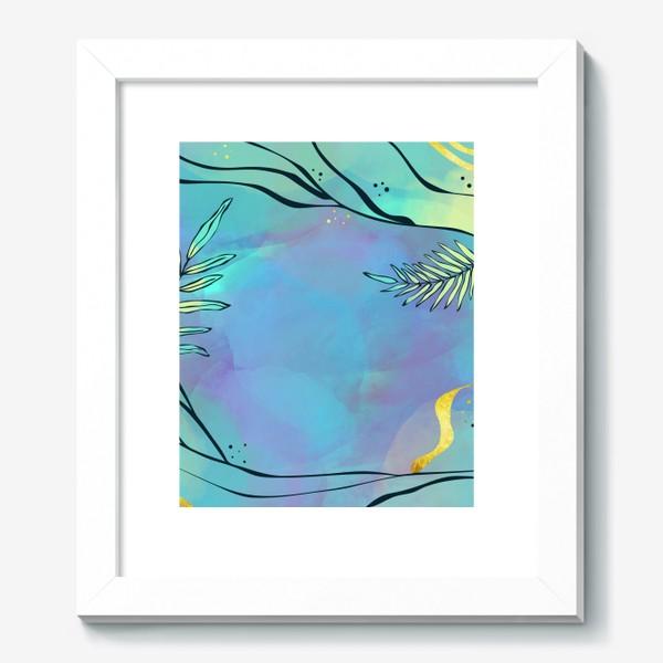Картина «Абстракция. Тропики»