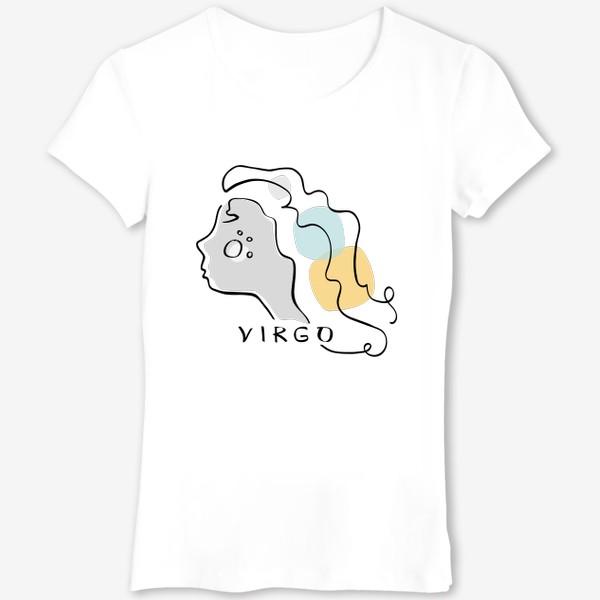 Футболка «Знак зодиака Дева. Virgo»