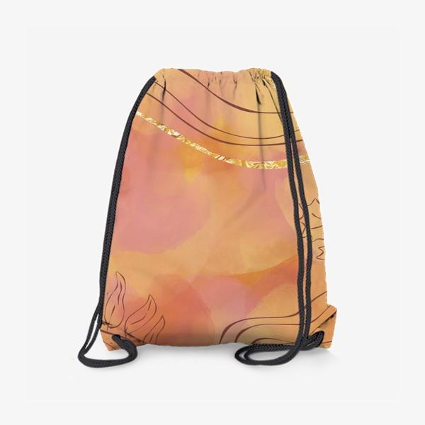 Рюкзак «Осенняя абстракция 2»