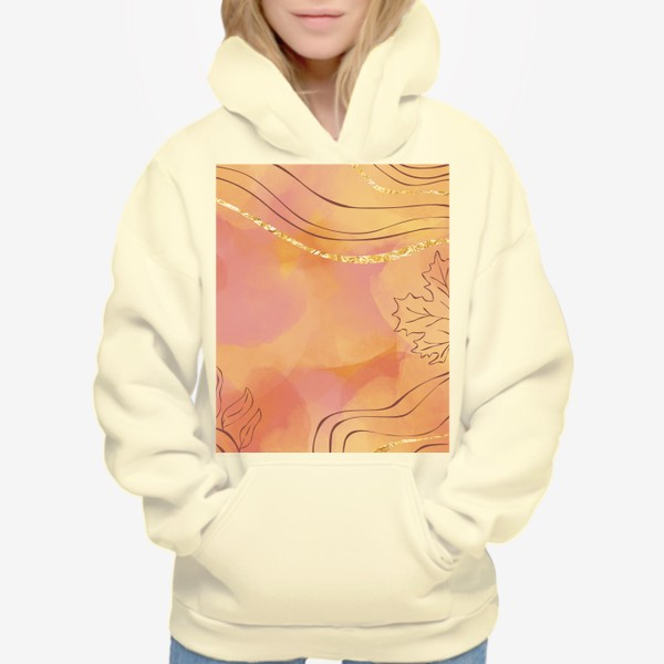 Худи «Осенняя абстракция 2»