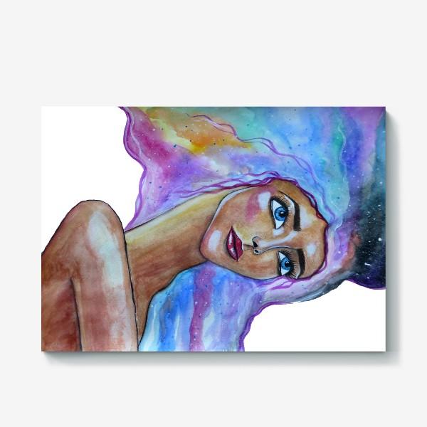 Холст «Акварельный сон»