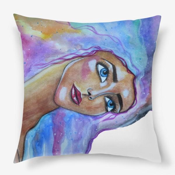 Подушка «Акварельный сон»