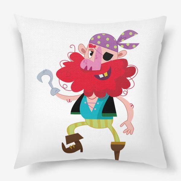 Подушка «Веселый одноногий пират»