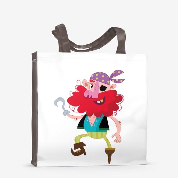 Сумка-шоппер «Веселый одноногий пират»