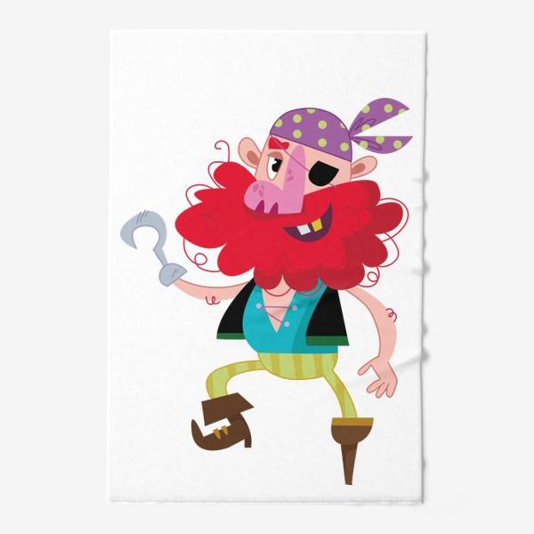 Полотенце «Веселый одноногий пират»