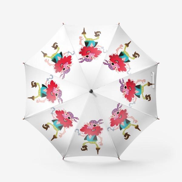 Зонт «Веселый одноногий пират»