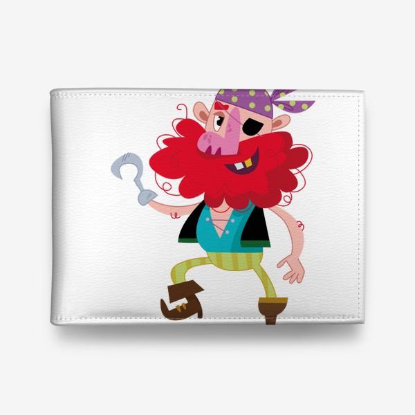 Кошелек «Веселый одноногий пират»