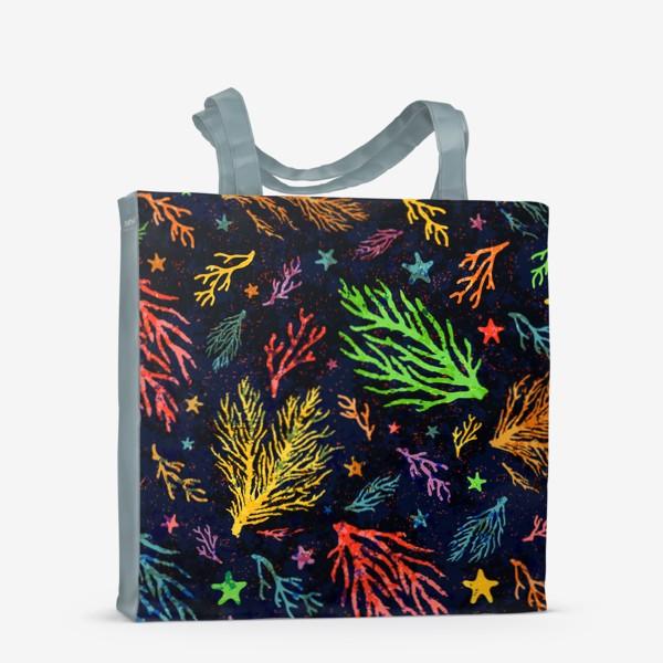 Сумка-шоппер «Разноцветный кораллы»