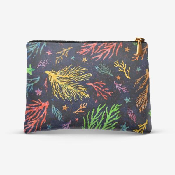 Косметичка «Разноцветный кораллы»