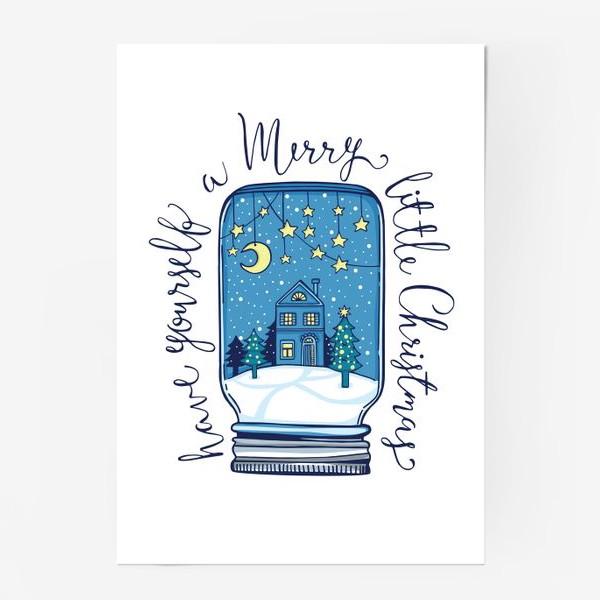 Постер «Зимние сказки»