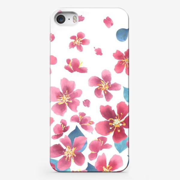 Чехол iPhone «Цветение сакуры 1»