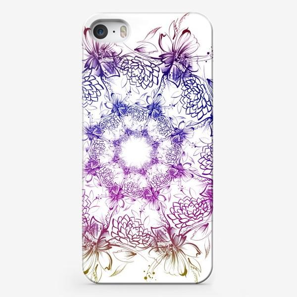 Чехол iPhone «Венок с ромашками»