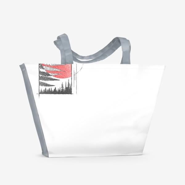 Пляжная сумка «Forest Fern»