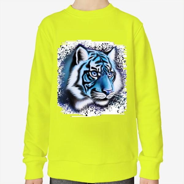 Свитшот «Ледяной Тигр. Символ 2022 года»